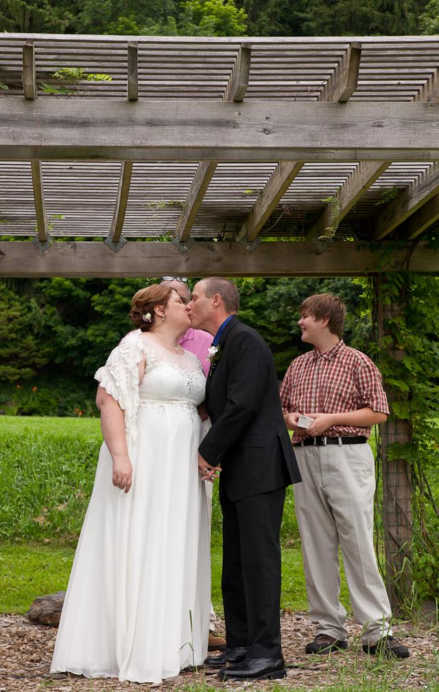 Kripalu Yoga and Health Center, Lenox Berkshire MA wedding, elopement, ceremony, the aisle, Mr & Mrs, documentary, the kiss, documentary, photography, photogragher
