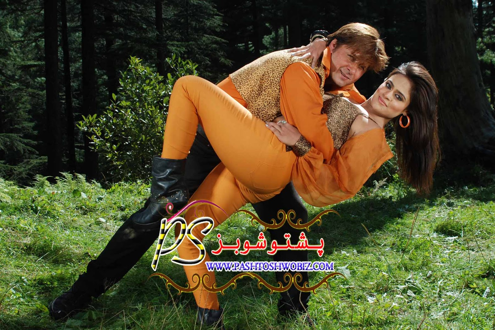 "Arbaz Khan with Sobia Khan in Film ""Dushmani"" Wallpaper"