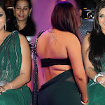 Namitha at Cinemaa Awards in Green Saree