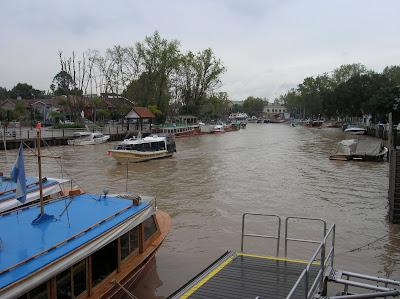 Embarcadero Delta del Tigre, Argentina, vuelta al mundo, round the world, La vuelta al mundo de Asun y Ricardo