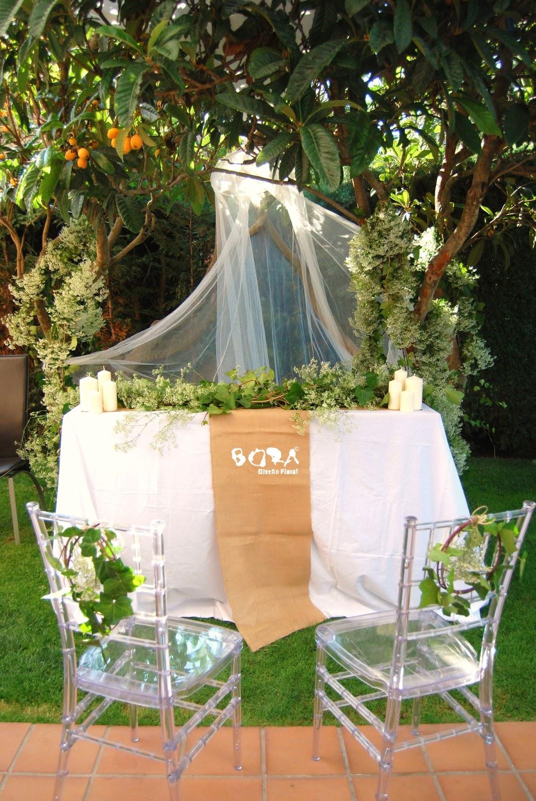 boda con paniculata