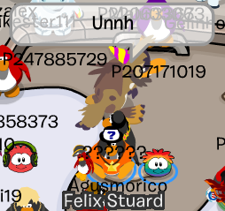 Sasquatch en Club Penguin