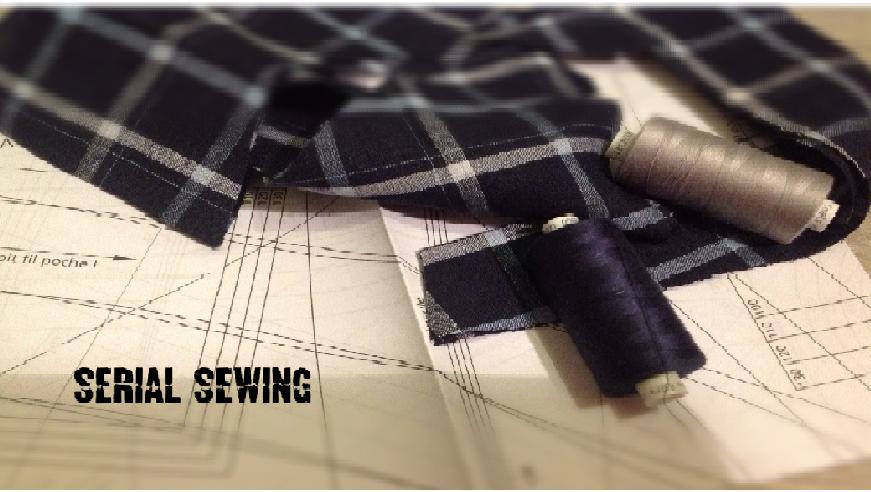 Serial Sewing
