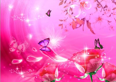 Открытки цветы для фотошопа