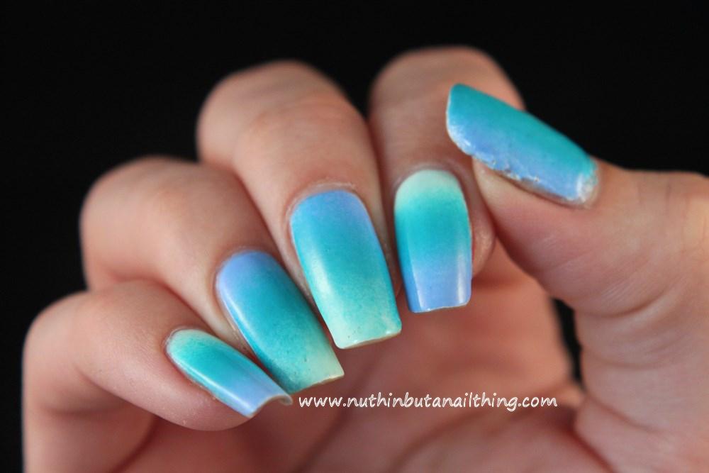 nail art gradient