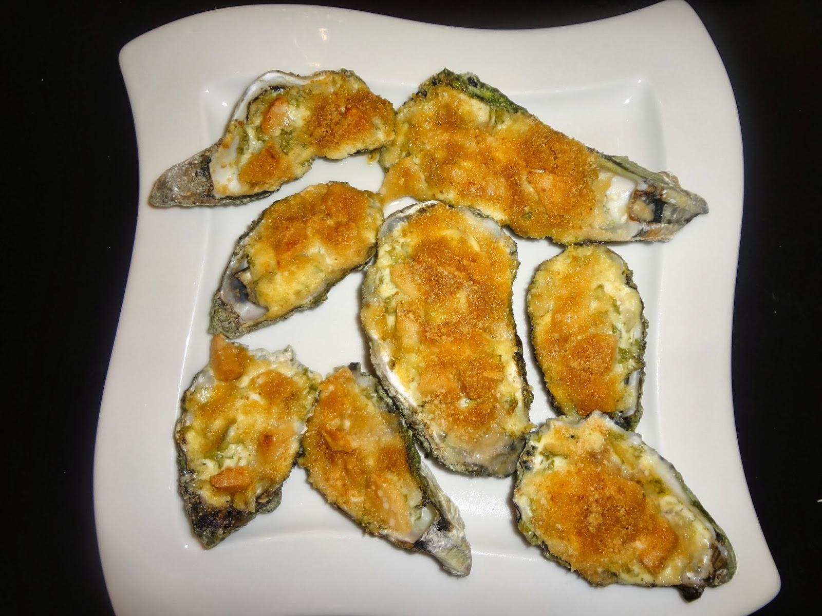 De keuken van de liefde gegratineerde oesters - Dressing liefde ...