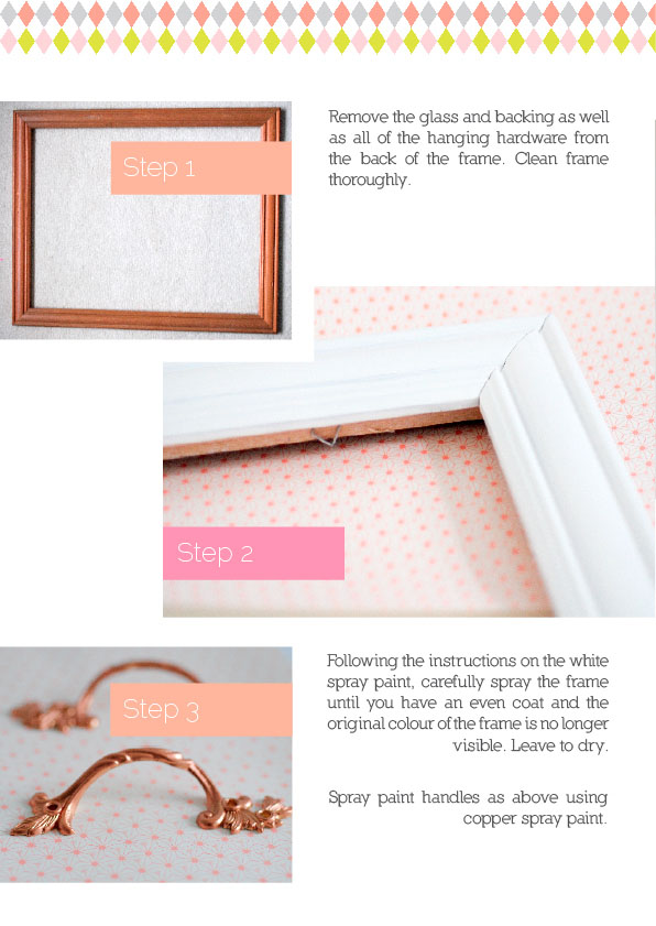 Picture frame tray in Issue 6 91 magazine