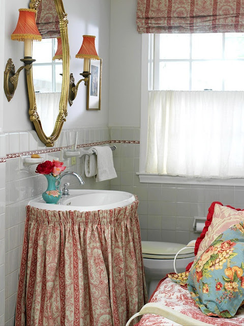 decoracao de lavabo simples : decoracao de lavabo simples:DE DECORAÇÃO-PUXE A CADEIRA E SENTE! : Decoração:Um Lavabo para