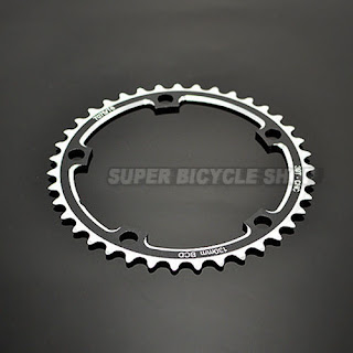 New Driveline CNC 7075 Alloy Chainring 39T, BCD 130mm, 40g, Black