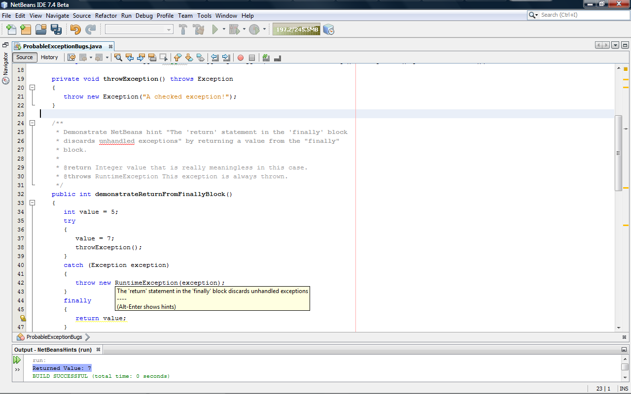 NetBeans IDE due this spring