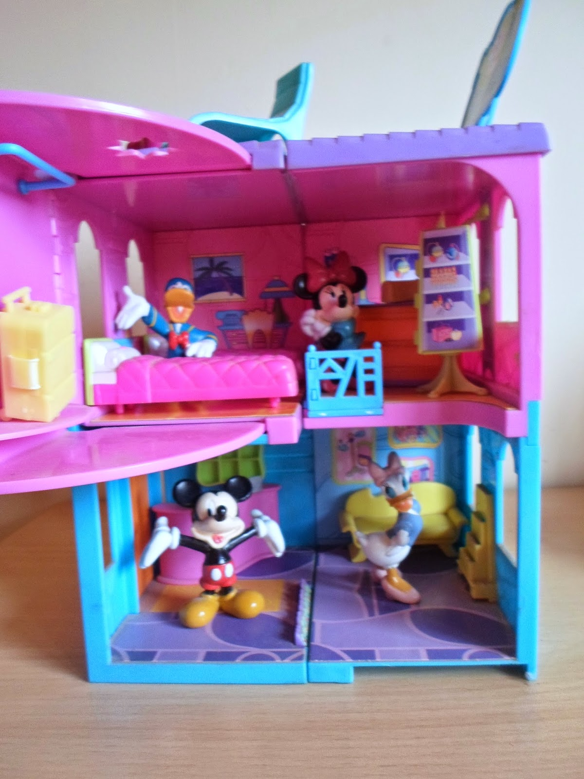 polly pocket roller coaster instructions