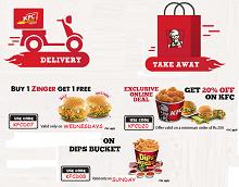 Mytokri: KFC Offers : 20% OFF On Rs.250, Dip Bucket 50% ...
