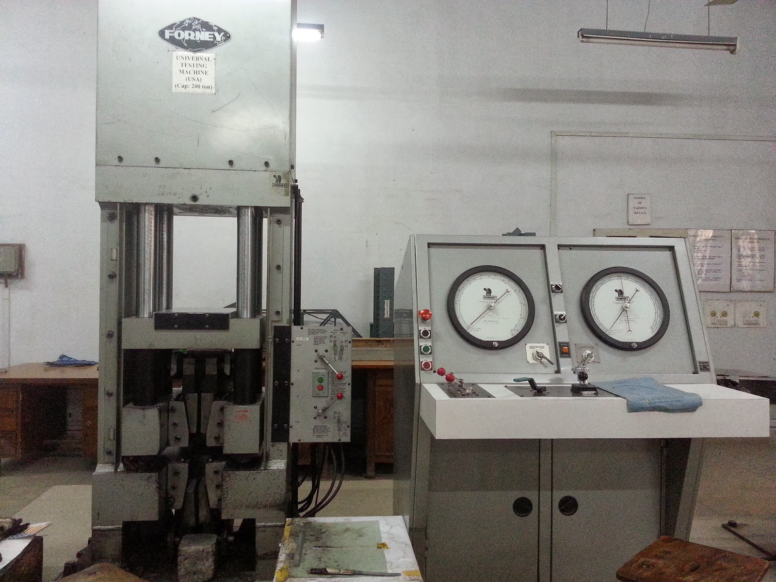 fatigue testing machine lab manual