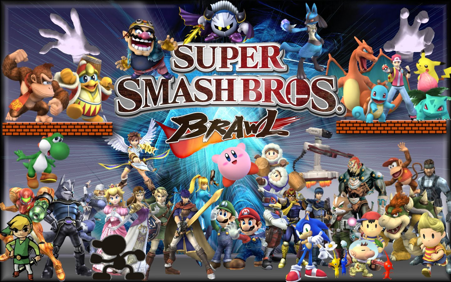 super smash bros brawl iso download android