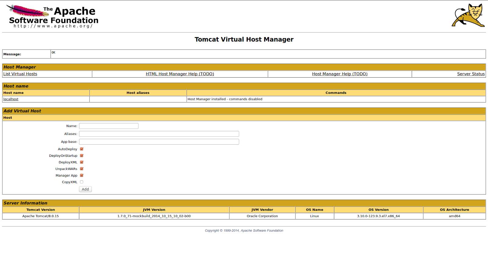 DriveMeca instalando Tomcat en Linux Centos 7 paso a paso