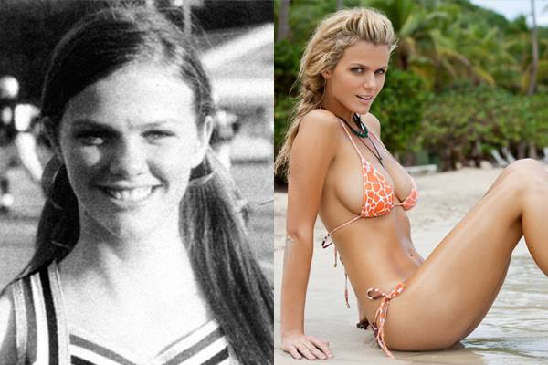 Brooklyn Decker was a cheerleader in high school. Then she married a pro athlete (Andy Roddick). Coincidence?