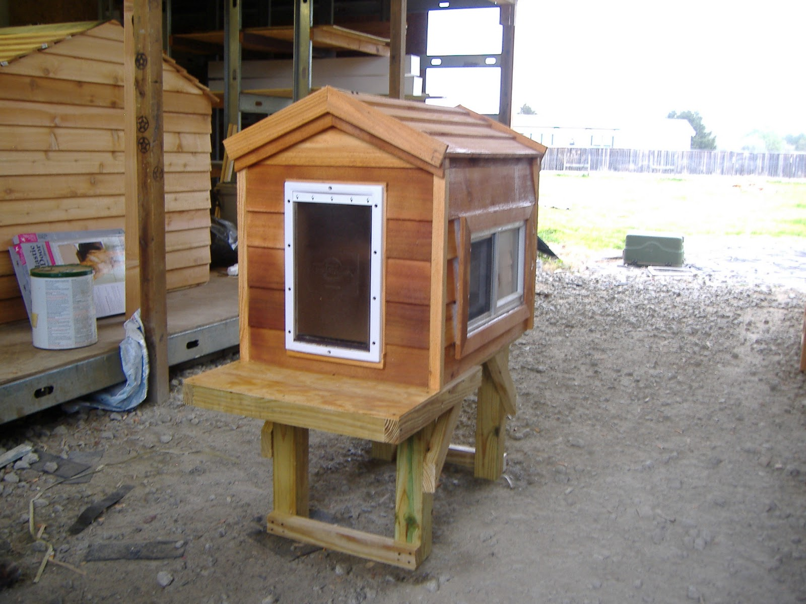 custom ac heated insulated dog house custom cat houses