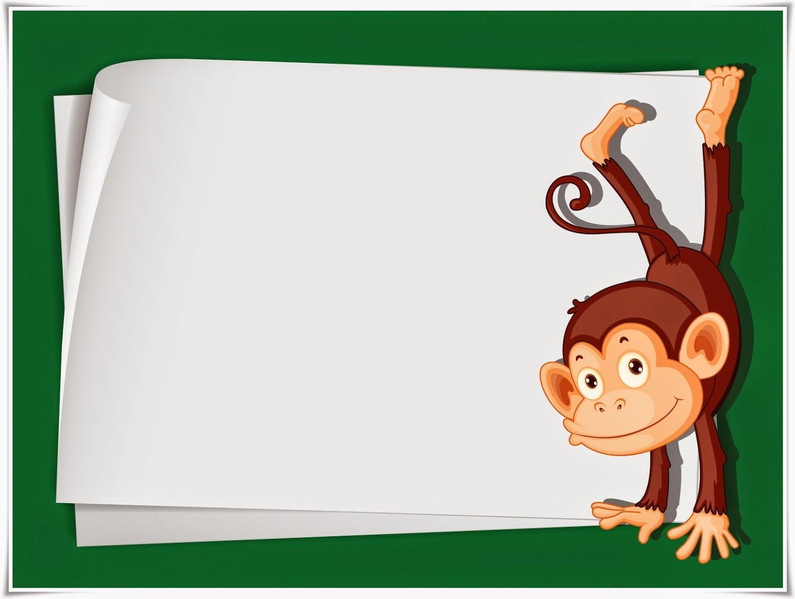 cute cartoon monkey wallpaper