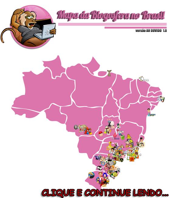 Clique e continue lendo ! - MAPA DA BLOGOSFERA BRASIL 2011 – Versão Ah Duvido