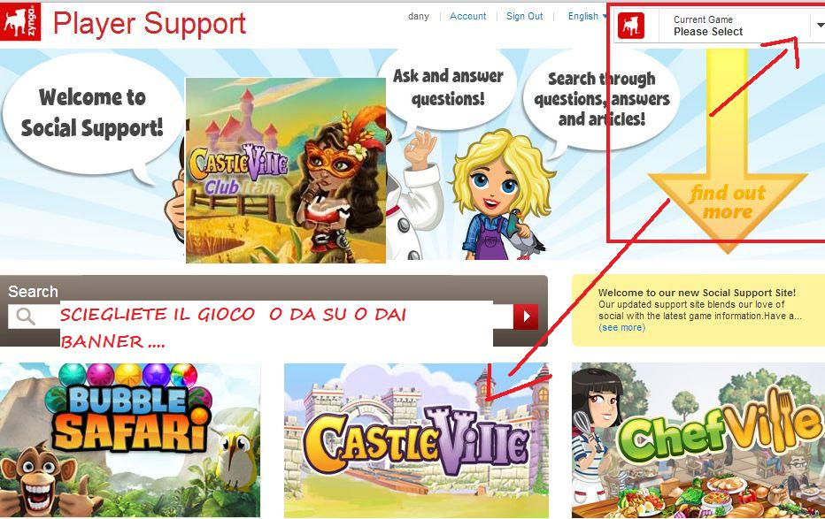 how to email zynga support