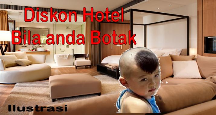 Kepala Gundul, Hotel di Hokkaido Beri Diskon