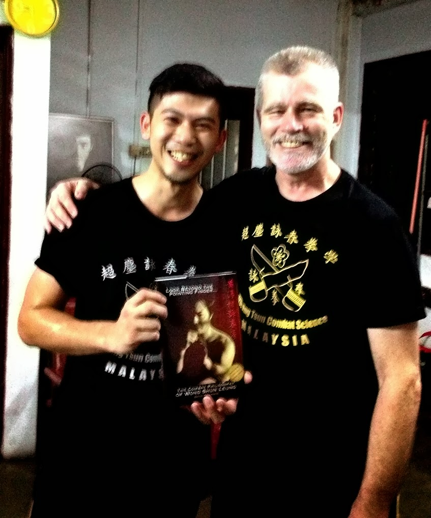 Sifu David Peterson & Jiason. F