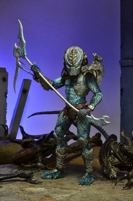 """NECA Predator Series 10 """"Hive Wars"""" Predator Figure"""