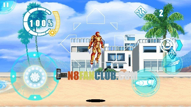Download Iron Man 3 for Nokia N8 & other Belle smartphones