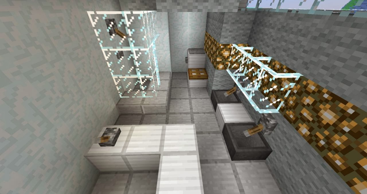 Bathroom Design Minecraft home design idea: bathroom ideas in minecraft