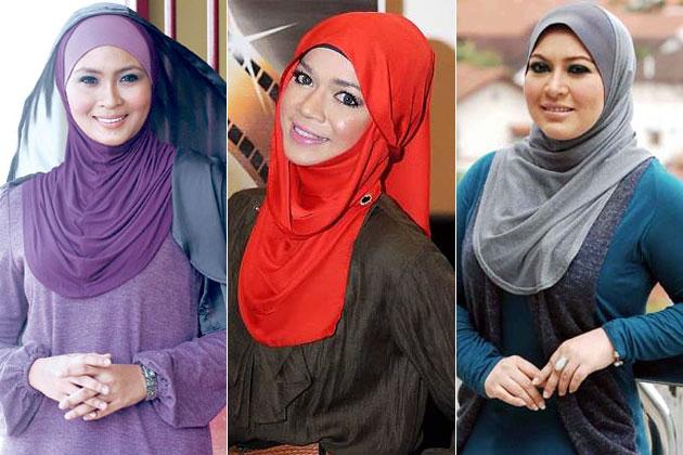 Gambar Artis Malaysia Bertudung Cun Jelita