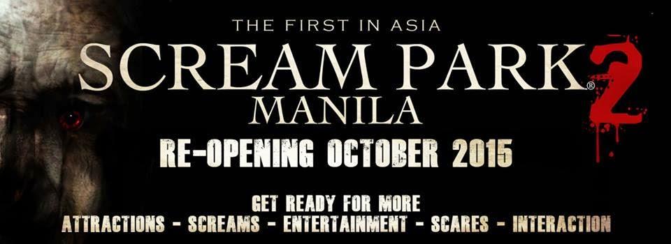 Scream Park 2 re-open October 2015