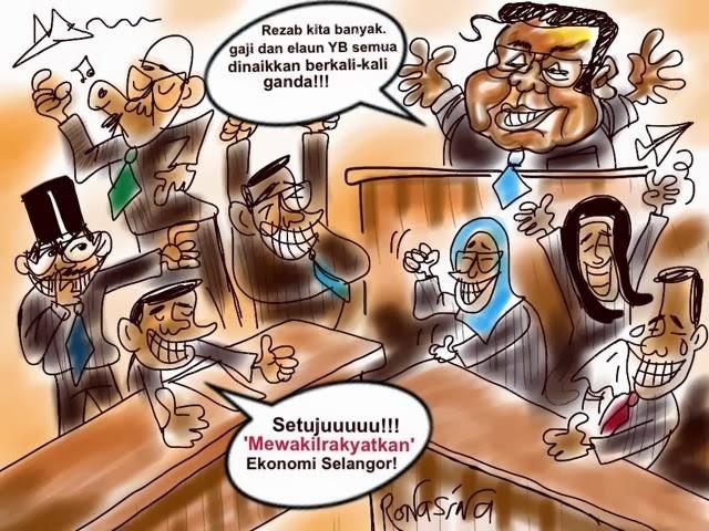 Selangor Rasuah ADUN Untuk Elak Digulingkan?!