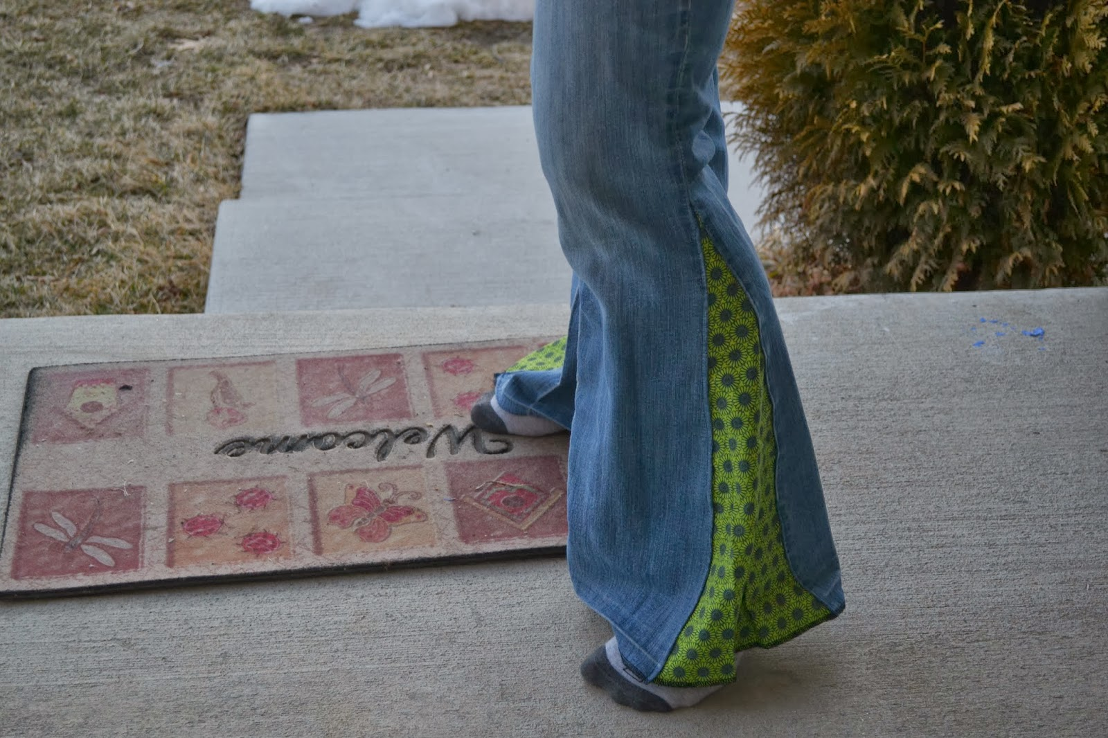 how to make your own bell bottoms