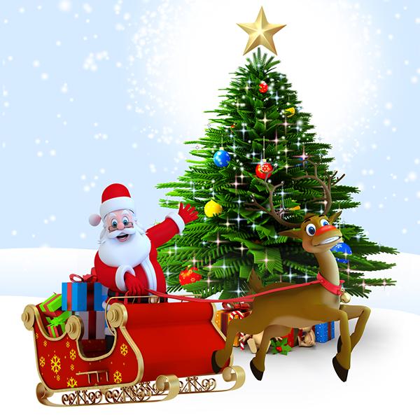Santa Ready for Christmas