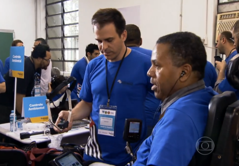 Jornal Nacional - Inventores criam tecnologias para inclusão de portadores de deficiência - Edição do dia 29/11/2014