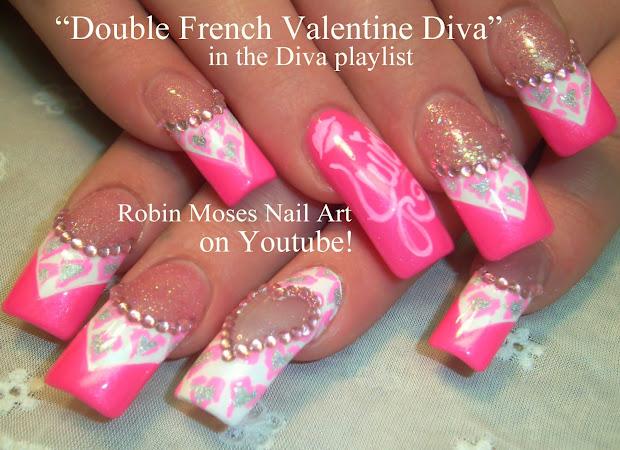"""robin moses nail art """"prom nails"""""""
