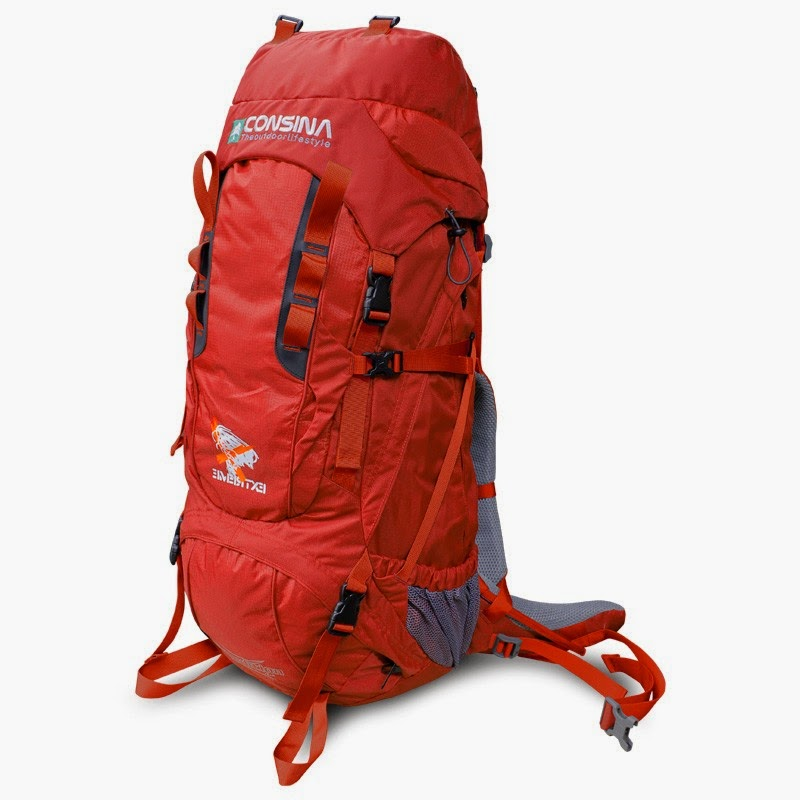 Carrier Consina Expedition 75+10 Liter Warna Merah