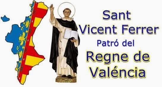 SANT VICENT FERRER, PATRÓ DEL REGNE DE VALENCIA, EN MANISES