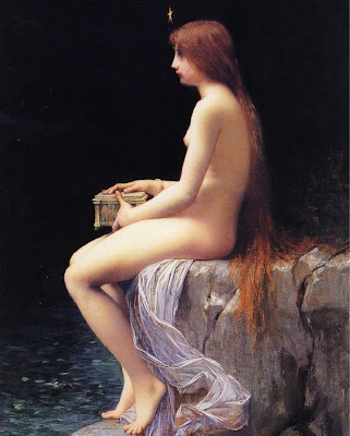 Pandora with Pandora's Box