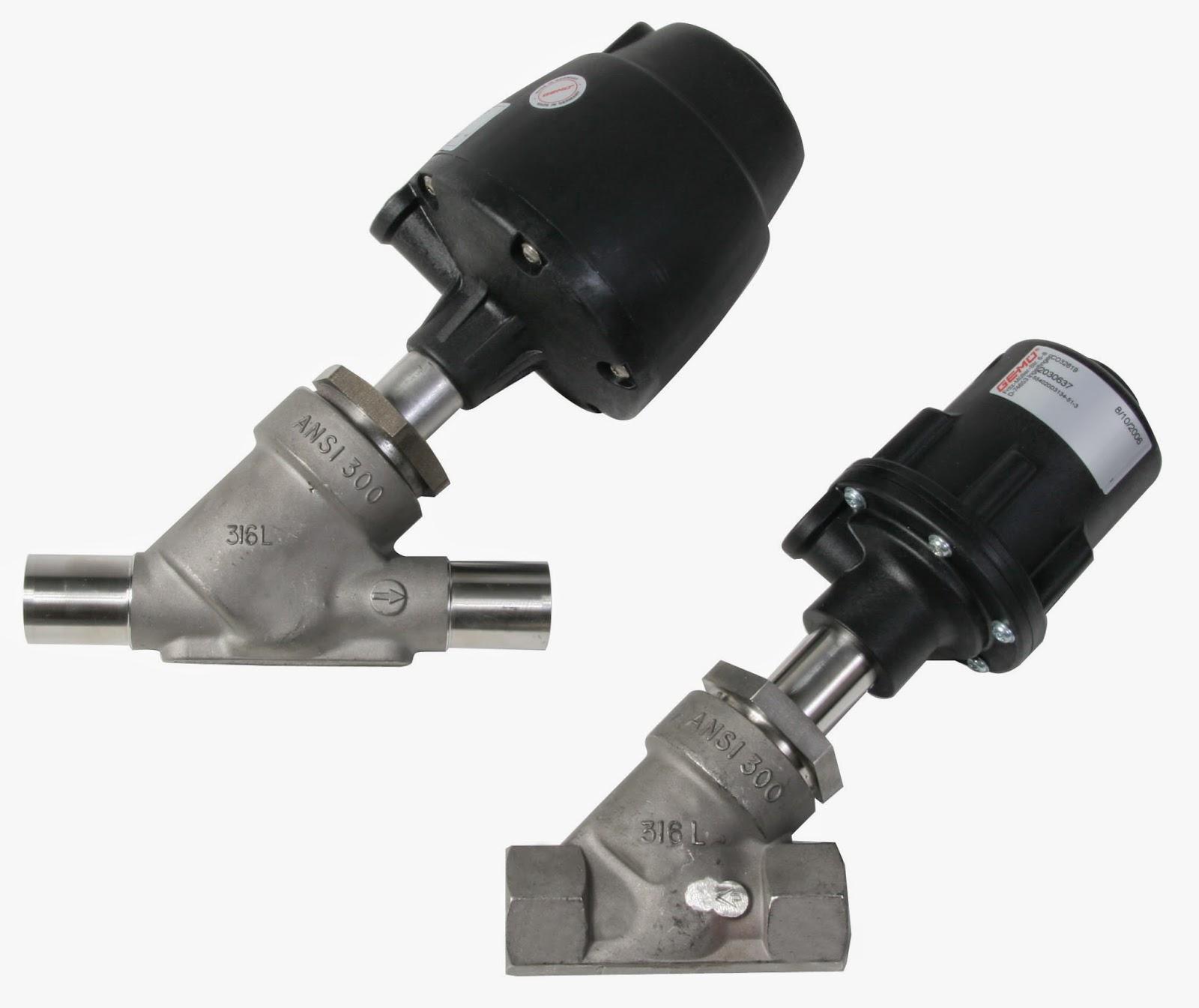 Gemu angle seat valve