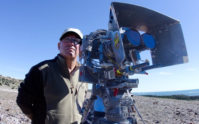 Filmaciones 3 D en el Canal de Ataque - Orcas de Punta