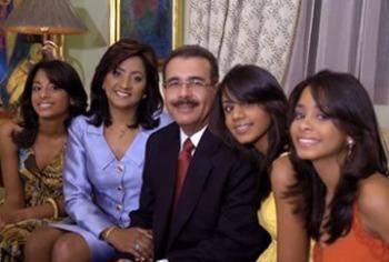 Danilo Medina llegó hoy a su tierra y estará hasta el domingo