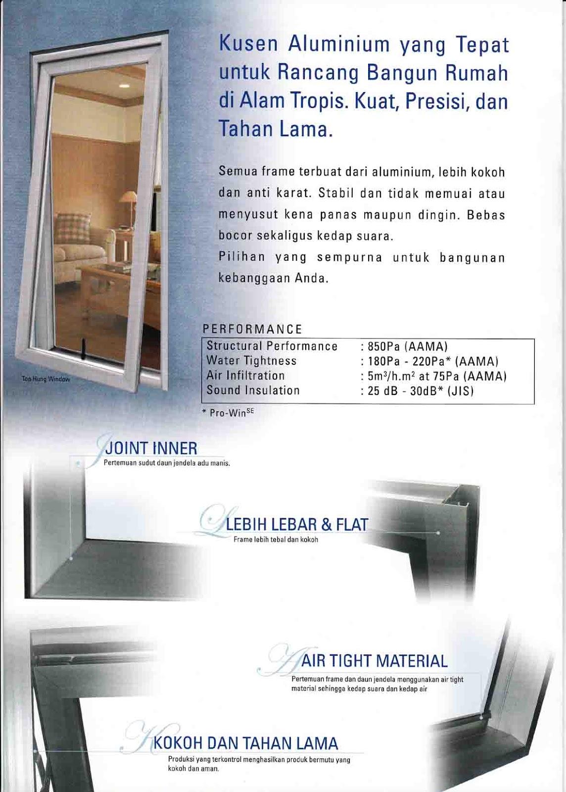 Harga jual kusen aluminium 2013 home design idea for Harga pasang kitchen set