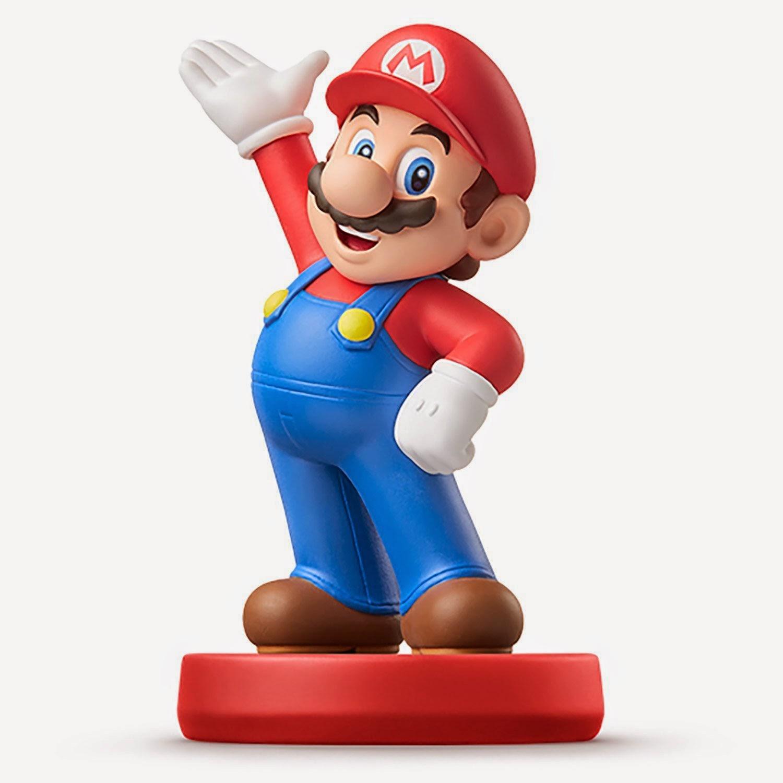 JUGUETES - NINTENDO Amiibo : Figura Mario   (20 Marzo 2015) | Videojuegos | Muñeco | Super Mario Collection  Plataforma : Wii U & Nintendo 3DS