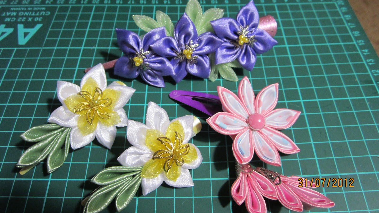 Цветок казанши своими руками