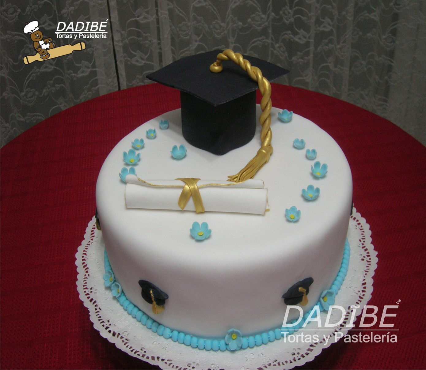 pasteles de graduacion fotos