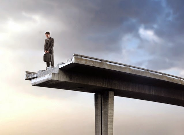 Man at end of road (Credit: Shutterstock) Click to enlarge.