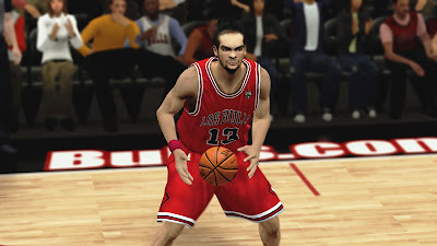 NBA 2K13 Joakim Noah Cyberface Patch