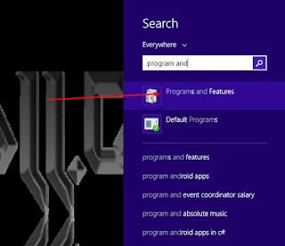 cari program and feature