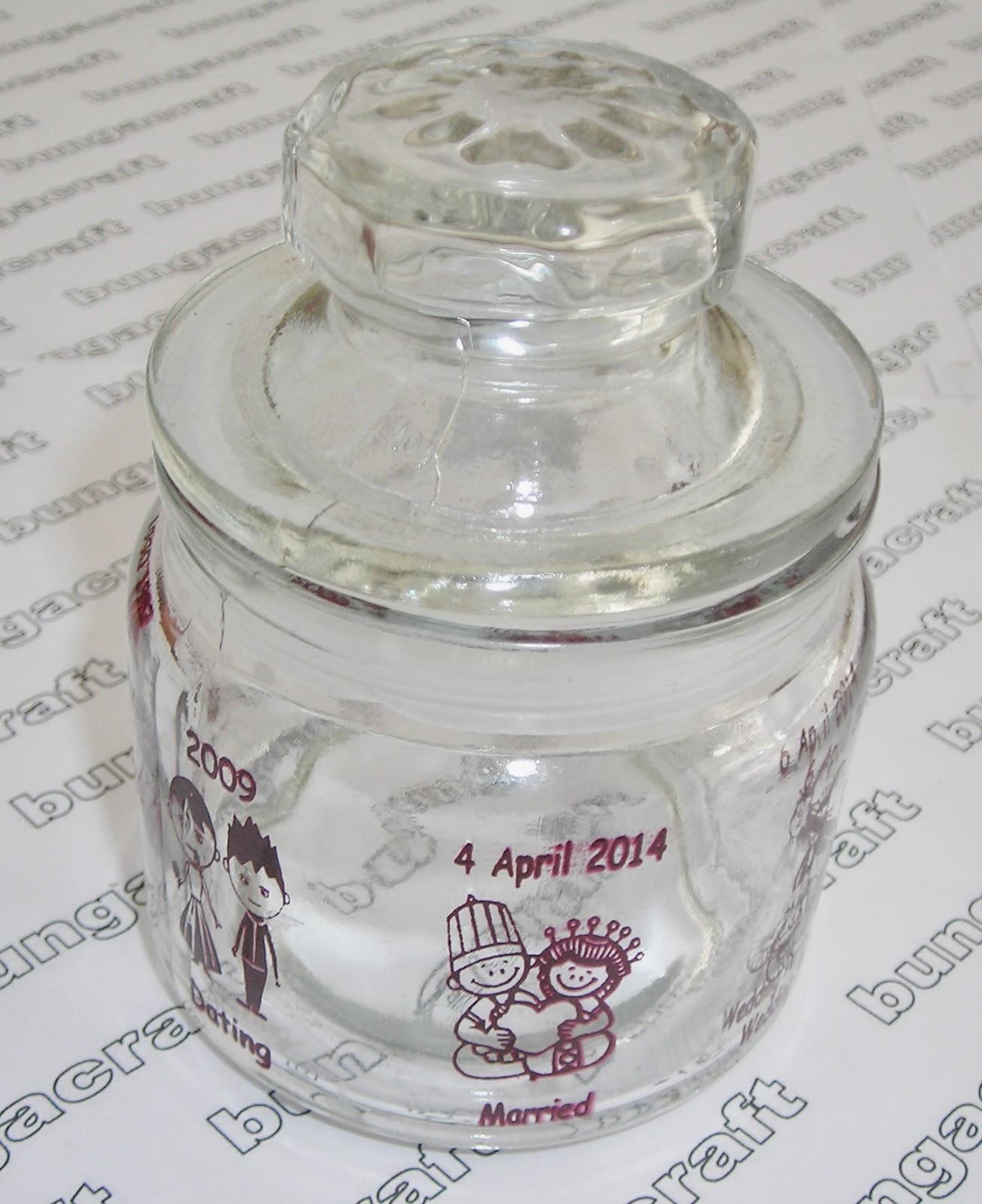 souvenir toples mini kaca bulat